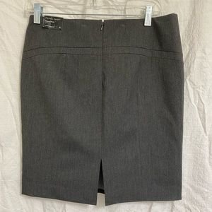 NWT Express Charcoal Gray Lined Skirt